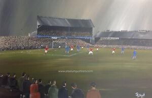 Chelsea v Dynamo Moscow at Stamford Bridge 1945 -  20'' x 30'' box canvas print