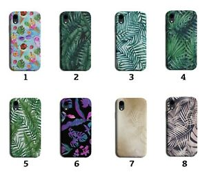Palm Tree Leaves Phone Case Cover Fern Fernes Gold Golden Leaves Jungle 8160
