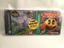 Pac-Man World 20th Anniversary & A Bug's Life Target 2-Pack PlayStation 1 PS1