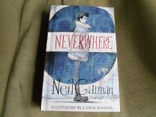 NEIL GAIMAN SIGNED - NEVERWHERE - LIMITED ILLUSTRATED FIRST EDITION HARDCOVER