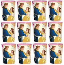 Disney Beauty and the Beast (12) Plastic Cup 16oz Birthday Party Favors Supplies