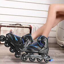 Inline Skates Erwachsene Einstellbarer Größe (35-43) Kinder Inliner Rollschuh DE