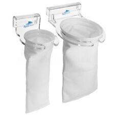 Aquarium Pet Fish Tank Filter Sump Felt Sock Mesh Net Bag Bracket Holder Micron