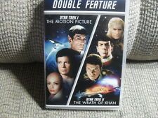 STAR TREK the motion picture/star trek II the wrath of khan - double feature