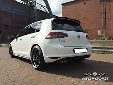 VW GOLF 7 GTI GT GTD Heckspoiler Spoiler Ansatz Lasche Dachspoiler CARBON LOOK