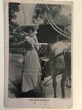 Vintage Postcard - Wildt & Kray WK # 18 Miss Marie Studholme - Posted 1906