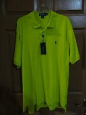 Ralph Lauren Classic Fit Key Lime Polo Shirt Polo Horse XLarge- NWT