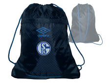 Umbro FC Schalke 04 Gymsack dunkelblau S04 Fan Turnbeutel Tasche 42x34cm Gymbag