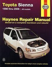 Toyota Sienna 1998 thru 2006 (Haynes Repair Manual)-ExLibrary