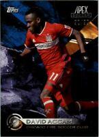 2016 Topps Apex MLS Blue #97 David Accam /99