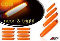 12x Led Neon Amber 24v Side Marker Indicator Lights For Man Daf Scania Volvo