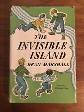 """New listing Rare Vintage First Edition Book """"The Invisible Island� By Dean Marshall, 1948"""