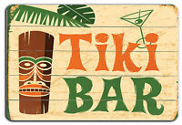 FUNNY TIKI BAR METAL SIGN NOVELTY GIFT