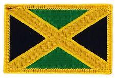 Patch écusson brodé Drapeau  JAMAIQUE JAMAICA FLAG Thermocollant  Blason
