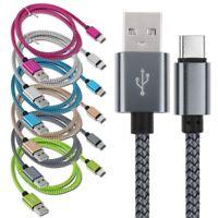Intrecciato USB3.1 Tipo C Dati Caricabatterie Cavo Per Samsung S8/Huawei P20 Pro