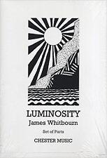 James Whitbourn: Luminosity (Score), New, Chester Music Book