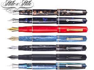 Leonardo Workshop Italian Moment Zero Resin Pen Fountain Pen Fountain Pen