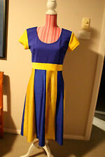 Blue and Gold Parramatta Eels Themed Dress Worn once