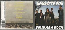 """THE SHOOTERS """"Solid as a Rock"""" CD 1989 CBS/USA Neuwertig/Near Mint"""