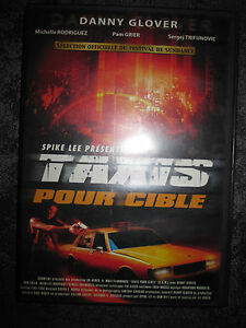 DVD COMME NEUF TAXIS POUR CIBLE DANNY GLOVER MICHELLE RODRIGUEZ SPIKE LEE