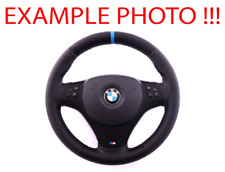 BMW 1 3 2 E81 E82 E87 E90 E91 E92 E93 NEW Leather M-Sport Thick Steering Wheel