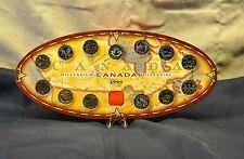 1999 Millennium Canada 13 Quarter Set