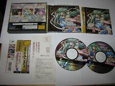 Can Can Bunny Premiere 2 Sega Saturn Japan import + spine card reg US Seller