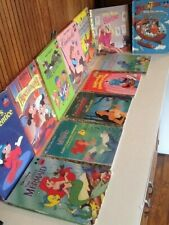 Lot of Vintage Disney Books 70s-90s Free Shipping!!!!!!!!