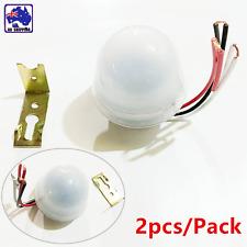 2pcs DC/AC 12V 10A Light Sensor Automatic Day-Night Switch Street ESIS59120x2