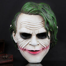 Scary Joker Batman Dark Knight Movie Mask Resin Halloween High Quality Props