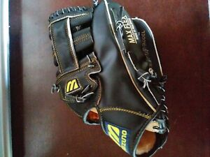 "MIZUNO Model MZ 117 Leather 11.5"" Max Flex Baseball Glove Right Hand Thrower"