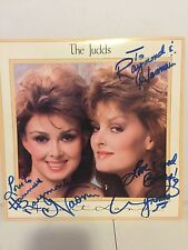 Wynonna & Naomi (The Judds) SIGNED Lp Record - Heart Land
