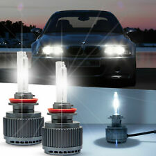 2x H7 Daytime Running Light HID Bulbs for BMW E46 3 Series Halogen Headlights
