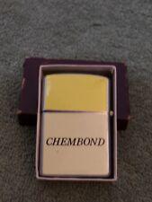 """Vintage Chembond Advertising Lighter, """"penguin"""" Japan"""