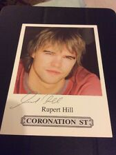 CORONATION STREET JAMIE BALDWIN CAST CARD ❤️