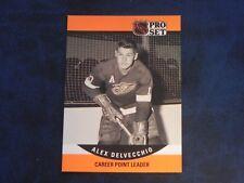 1990-91 90/91 Pro Set Series 2 #652 Alex Delvecchio Detroit Red Wings