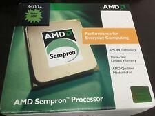 AMD Sempron 3400+ Processor CPU, 1.8 GHz 256KB Base, Socket AM2, heatsink/fan