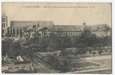 France - Saint-Denis, Vue de l'Abbaye et de la Légion d'Honneur - 1900's card