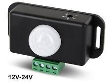 IR Mini Bewegungsmelder 12V 24V - LED geeignet - für LED Lichtband Leuchten