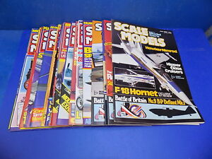 Scale Models International Magazine 1980 - 1984 Select From Back Issues