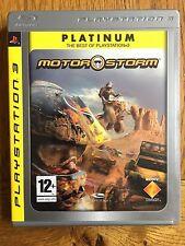 Motorstorm Platinum Edition (non scellé) - PS3 sortie au R. - U. Neuf!