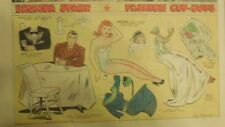 Brenda Starr Sunday with Large Uncut Paper Dolls from 11/23/1941 Full Size Page