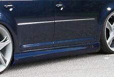 Design Seitenschweller Schweller Sideskirts für VW Touran Typ 1T