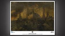 Battlestar Galactica first Cylon War Wandgemälde Kunstdruck Prop Replica