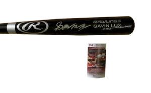 Gavin Lux Signed Rawlings Pro Bat Los Angeles Dodgers JSA COA
