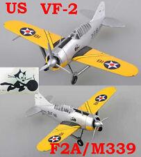 Easy Model 1/72 US F2A-2/M339 VF-2 CV-2 #36380