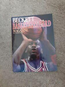 1st ED BECKETT BASKETBALL CARD PRICE GUIDE MARCH/APRIL 1990 MICHAEL JORDAN
