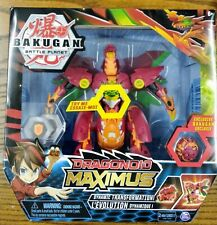 DRAGONOID MAXIMUS Exclusive Bakugan Battle Planet Dynamic Transformation New
