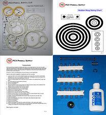 1976 Bally Night Rider Pinball Machine Tune-up Kit - Includes Rubber Ring Kit