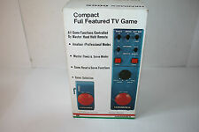 VERY RARE VINTAGE 1975 HANIMEX # 666S COMPACT FULL FEATURED TV GAME NIB NOS